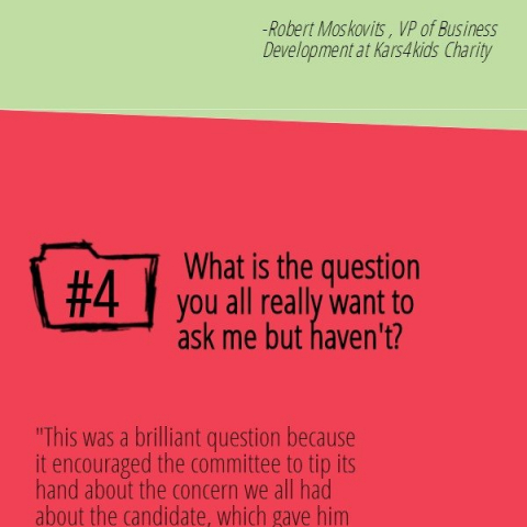 Top 7 Great Questions to Ask Your Interviewer