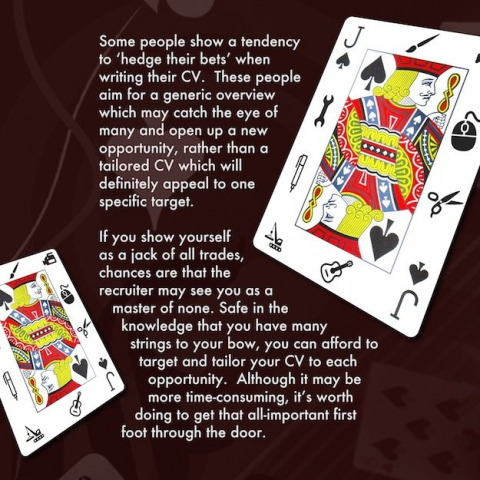 Play Your Cards Right to Secure Your Dream Job