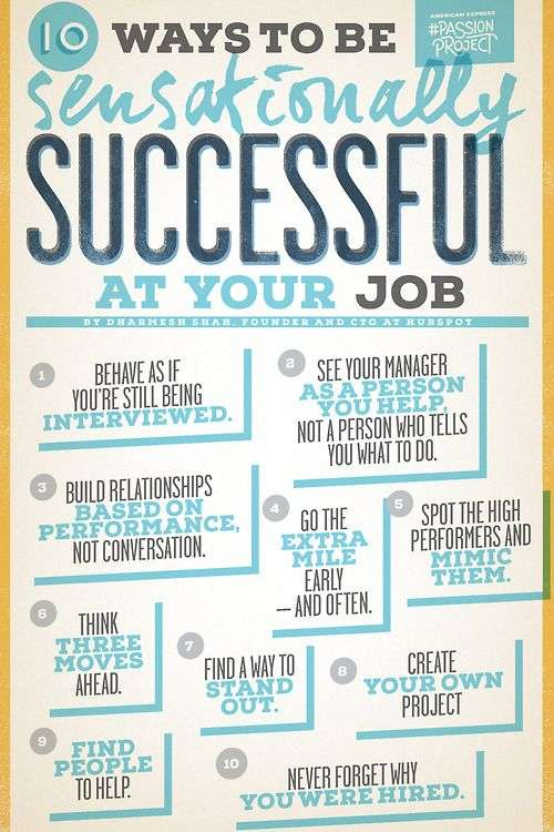 how to be sensationally successful