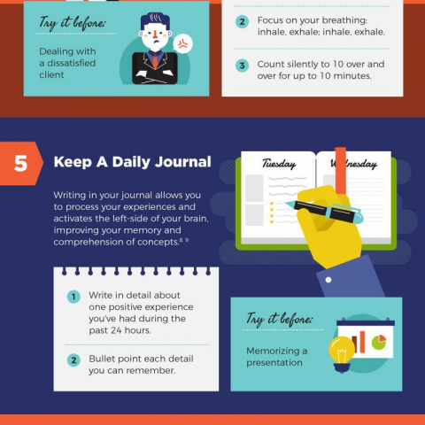 9 daily rituals to increase your performance at work